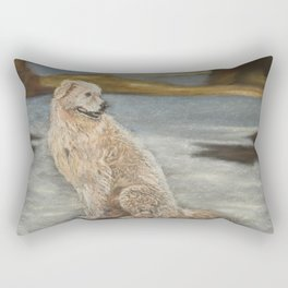 Oddball the maremma dog Rectangular Pillow
