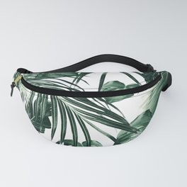 Tropical Jungle Leaves Dream #7 #tropical #decor #art #society6 Fanny Pack