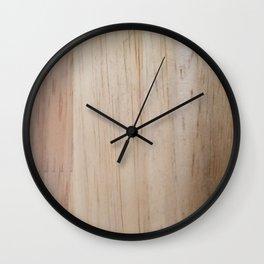 Wood Grain Wall Clock