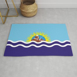 Flag of Santa Cruz Rug