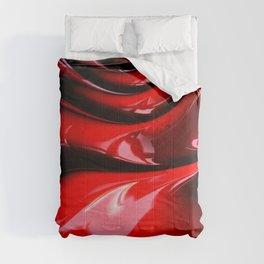 Cherry Syrup on Ice Cream Comforters