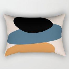 teal sunrise 4 Rectangular Pillow