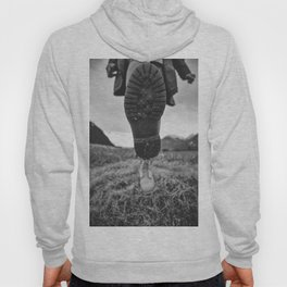 Let's Explore (Black and White) Hoody