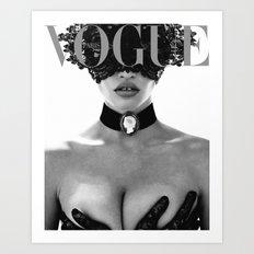 Fashion Photography VOGUE Paris Fashion Print More Issues Than Vogue Fashionista Fashion Wall Art Art Print