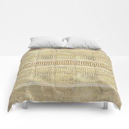 Greek Meander Pattern - Greek Key Ornament Comforters