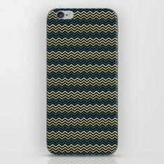 Chevron #265C73 iPhone & iPod Skin