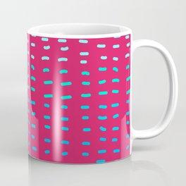 Fiesta at Festival - Raspberry & Turquoise Coffee Mug
