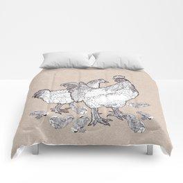 Scrambled croak Comforters