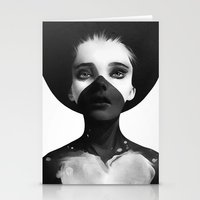 paint Stationery Cards featuring Hold On by Ruben Ireland