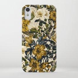 Warm Winter Garden iPhone Case
