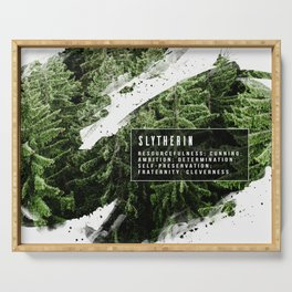 Slytherin Nature Serving Tray