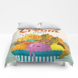 Ice Cream Craze Comforters