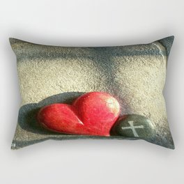 """Heart and Soul"" Rectangular Pillow"