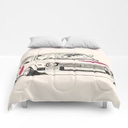 Crazy Car Art 0163 Comforters