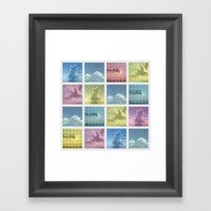 Sky ~ Matrix Framed Art Print