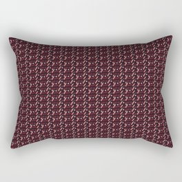 Coca Cola inspired pattern Rectangular Pillow