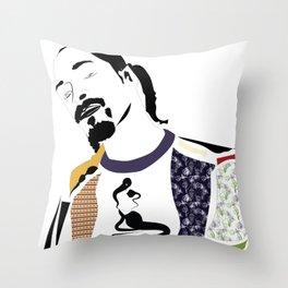 Snoop Dogg Throw Pillow