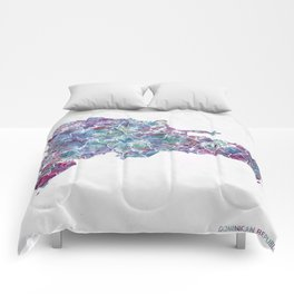 Dominican Republic Comforters