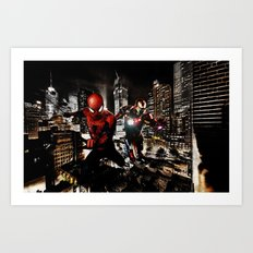 Dynamic Duo Art Print