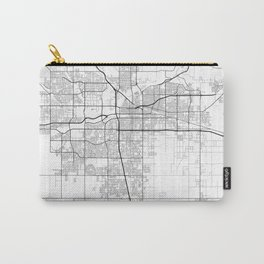 """""""Minimal City Maps - Map Of Bakersfield, California, United States Carry-All Pouch"""