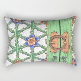 Temple Haeinsa door Rectangular Pillow