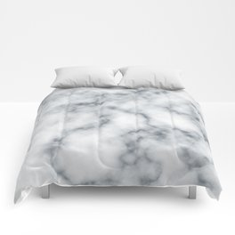 Marble Cloud Comforters