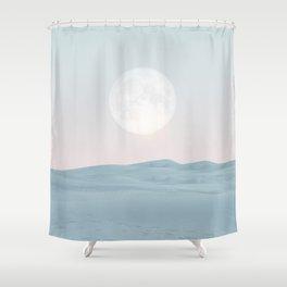 Pastel desert II Shower Curtain