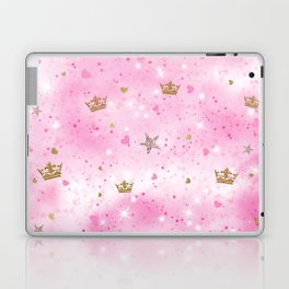 Pink Princess Laptop & iPad Skin