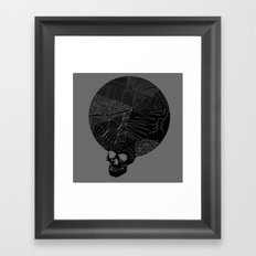 BLK SKL Framed Art Print