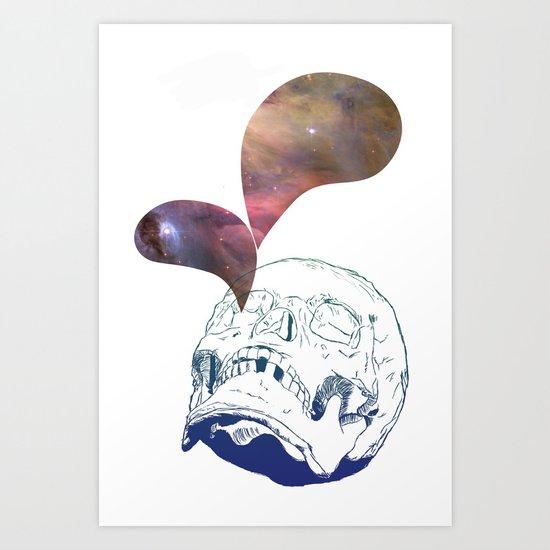 Stargazer Art Print