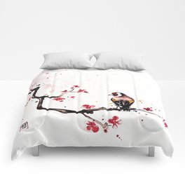 """The tiny wings """"The goldfinch"""" Comforters"""