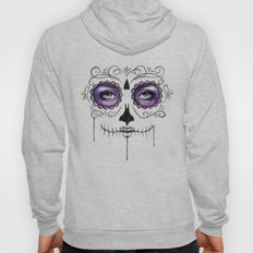 Purple Sugar Skull Hoody