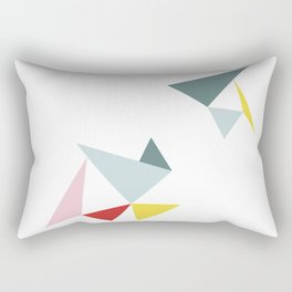 Triangles in the Sky Rectangular Pillow