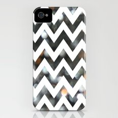 Chevron Glitter Slim Case iPhone (4, 4s)