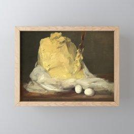 Mound of Butter by Antoine Vollon, 1875 Framed Mini Art Print