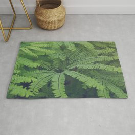 Misty Maidenhair Fern Rug