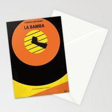 No797 My La Bamba minimal movie poster Stationery Cards