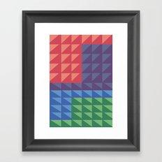 Flatris Framed Art Print