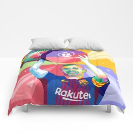 Iniesta Copa Del Rey Comforters
