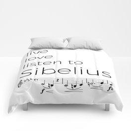 Live, love, listen to Sibelius Comforters