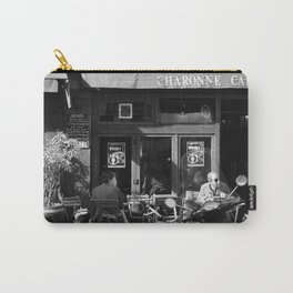 Sunny day in a Parisian cafe Carry-All Pouch