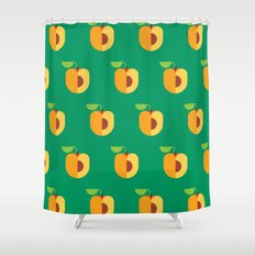 Fruit: Apricot Shower Curtain