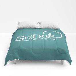 So. Dak. Blue Comforters