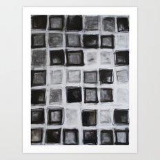 42 Squares Art Print