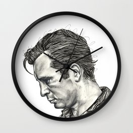 Exploding Like Spiders Across The Stars Wall Clock