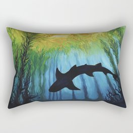Kelp Forest II Rectangular Pillow