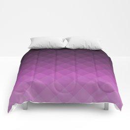 Ombre squares - Purple Comforters