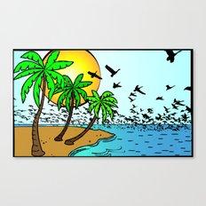 island Canvas Print