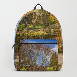 Spring Garden Pond Backpack
