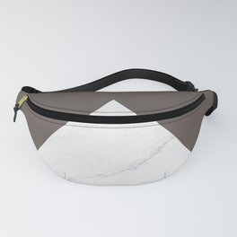 Marble vs Brown Granite Fanny Pack